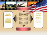 American Army PowerPoint Template#13