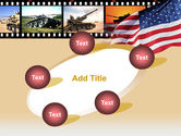 American Army PowerPoint Template#14
