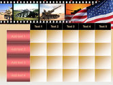 American Army PowerPoint Template#15