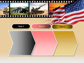 American Army PowerPoint Template#16