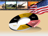 American Army PowerPoint Template#19