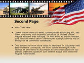American Army PowerPoint Template#2