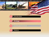 American Army PowerPoint Template#3