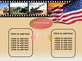 American Army PowerPoint Template#4