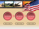 American Army PowerPoint Template#5