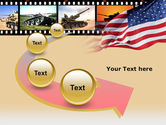 American Army PowerPoint Template#6