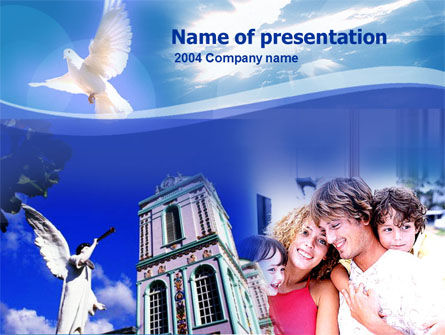Religious/Spiritual: Amazing Grace PowerPoint Template #00112