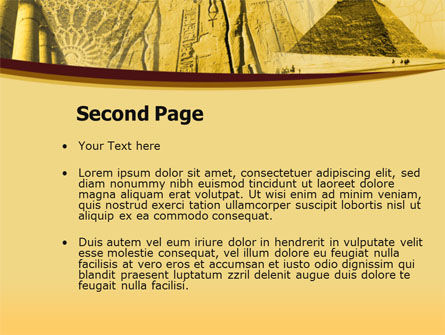Historical Monuments PowerPoint Template, Slide 2, 00113, Religious/Spiritual — PoweredTemplate.com