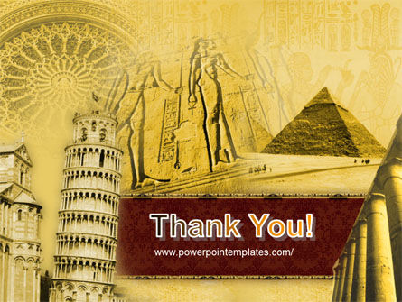 Historical Monuments PowerPoint Template Backgrounds – History Powerpoint Template