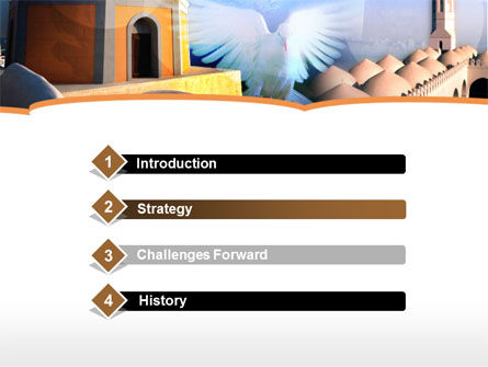 World Religions PowerPoint Template, Slide 3, 00116, Religious/Spiritual — PoweredTemplate.com