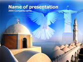 Religious/Spiritual: World Religions PowerPoint Template #00116