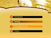 Sleeping Buddha PowerPoint Template#3