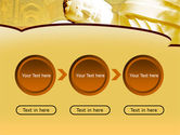 Sleeping Buddha PowerPoint Template#5