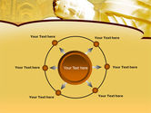 Sleeping Buddha PowerPoint Template#7