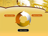 Sleeping Buddha PowerPoint Template#9