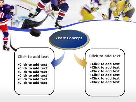Ice Hockey PowerPoint Template, Slide 4, 00119, Sports — PoweredTemplate.com