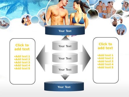 Beach Party PowerPoint Template Slide 13