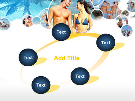 Beach Party PowerPoint Template Slide 14