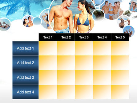 Beach Party PowerPoint Template Slide 15