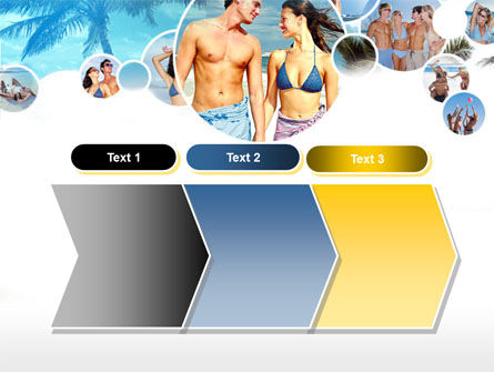 Beach Party PowerPoint Template Slide 16