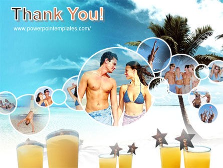 Beach Party PowerPoint Template Slide 20
