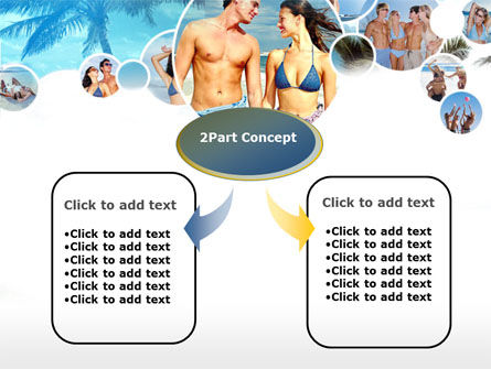 Beach Party PowerPoint Template, Slide 4, 00121, Holiday/Special Occasion — PoweredTemplate.com