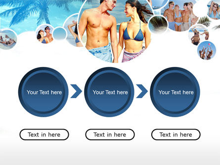 Beach Party PowerPoint Template Slide 5