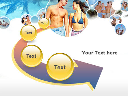 Beach Party PowerPoint Template Slide 6