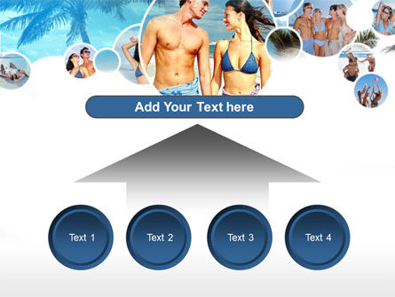 Beach Party PowerPoint Template Slide 8