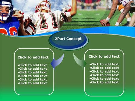 American Football PowerPoint Template, Slide 4, 00122, Sports — PoweredTemplate.com