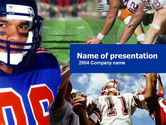 Sports: American Football PowerPoint Template #00122