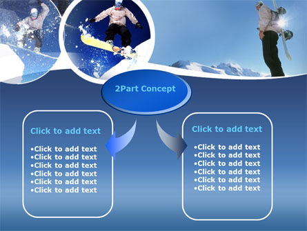Snowboarding PowerPoint Template Slide 4