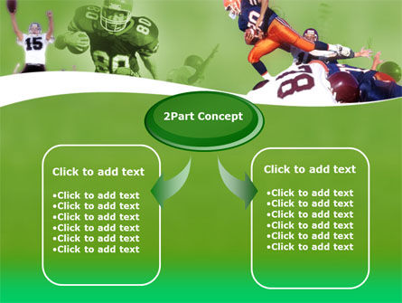 American Association Football PowerPoint Template, Slide 4, 00130, Sports — PoweredTemplate.com