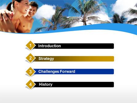 Exotic Vacation PowerPoint Template, Slide 3, 00131, Health and Recreation — PoweredTemplate.com