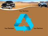 Pickup Truck Free PowerPoint Template#10