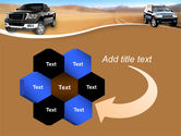 Pickup Truck Free PowerPoint Template#11