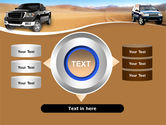Pickup Truck Free PowerPoint Template#12