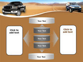 Pickup Truck Free PowerPoint Template#13
