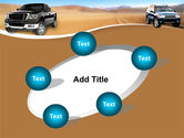 Pickup Truck Free PowerPoint Template#14