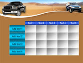 Pickup Truck Free PowerPoint Template#15