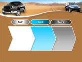 Pickup Truck Free PowerPoint Template#16