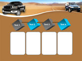 Pickup Truck Free PowerPoint Template#18
