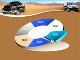 Pickup Truck Free PowerPoint Template#19
