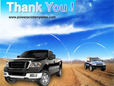 Pickup Truck Free PowerPoint Template#20