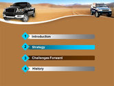 Pickup Truck Free PowerPoint Template#3