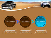 Pickup Truck Free PowerPoint Template#5