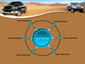 Pickup Truck Free PowerPoint Template#7