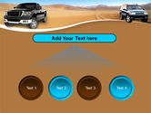 Pickup Truck Free PowerPoint Template#8