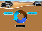 Pickup Truck Free PowerPoint Template#9