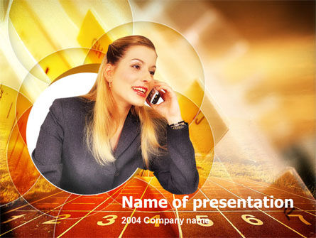 Consulting: Business Call PowerPoint Template #00134